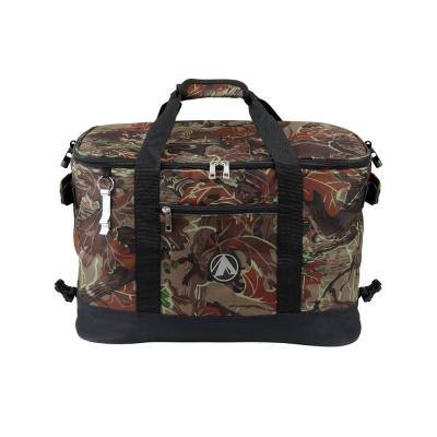 48-Can 30-Bottle Collapsible Soft Cooler with Bottle Opener in Camo