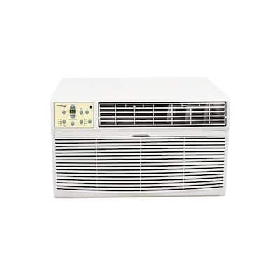 18,500 BTU 230-Volt/208-Volt Window Air Conditioner with Heat and Remote Control in White