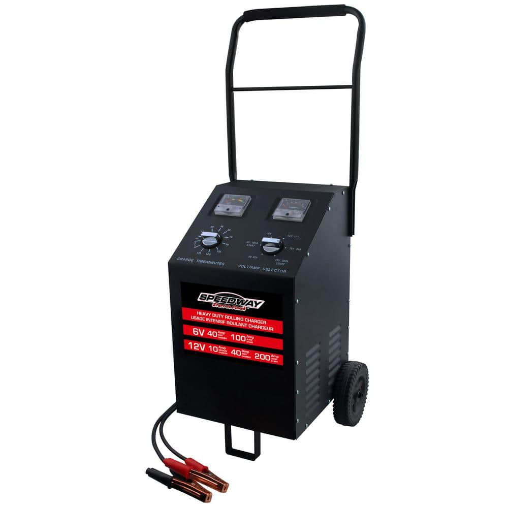 SPEEDWAY 100 Amp Rolling Battery Charger