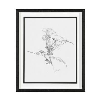 Arrangement III Framed Botanical Nature Art Print 21.5 x 25.5