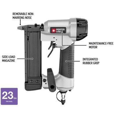 23-Gauge 1-3/8 in. Pin Nailer