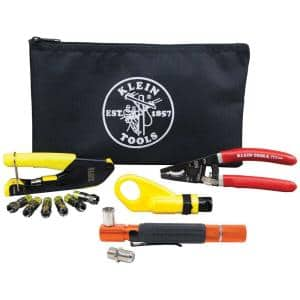 Coaxial Installation Kit with Continuity Tester