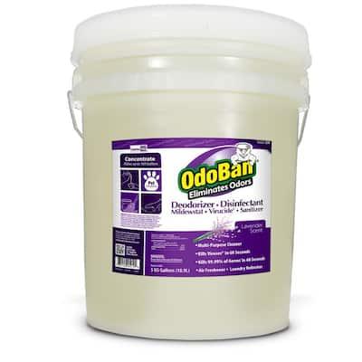 Professional Series 5 Gal. Lavender Disinfectant Odor Eliminator Concentrate