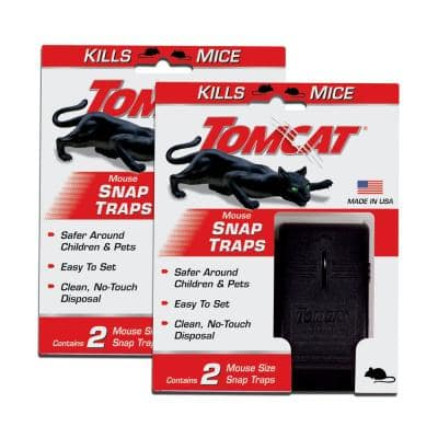 Mouse Snap Trap (2-Pack)