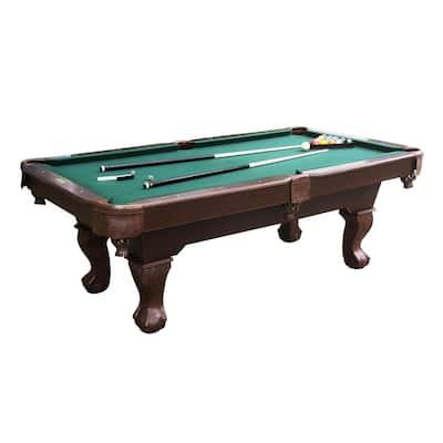 7.5 ft. Traditional Ball and Claw Leg Billard Table
