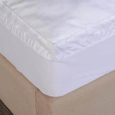 Ultra 1.5 in. Queen Polyester Mattress Pad