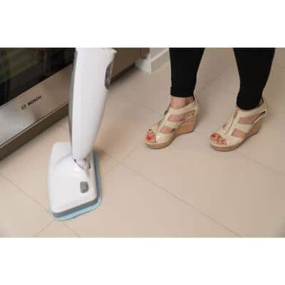 SAG403 Powerful Disinfecting Floor Steam Mop with Vibration 410 ML 1200-Watt, 2 Mop Pads Included, Pink