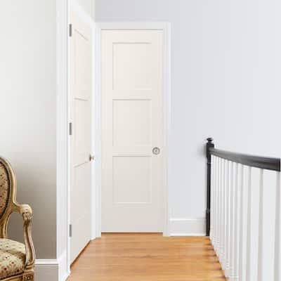 24 in. x 80 in. Birkdale Primed Smooth Solid Core Molded Composite Interior Door Slab