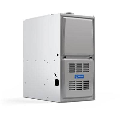 Signature 88,000 BTU 80% AFUE Multi-Position Multi-Speed Natural Gas Furnace with 17.5 in. Cabinet