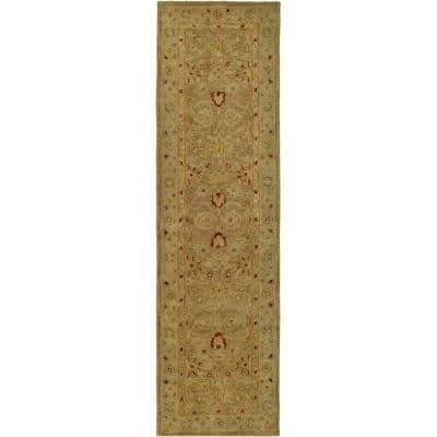 Antiquity Brown/Beige 12 ft. x 15 ft. Area Rug
