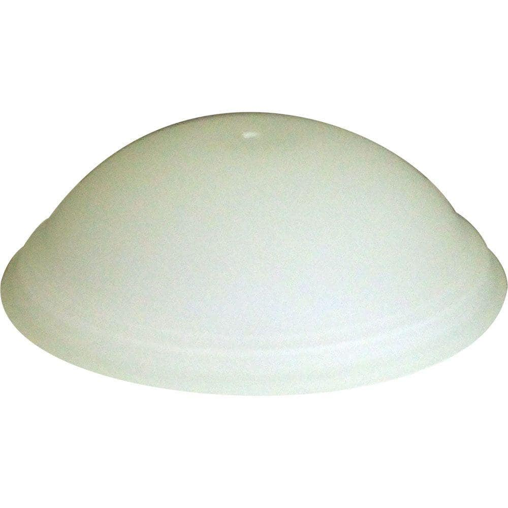 Flowe Brushed Nickel Ceiling Fan Replacement Glass Bowl 8239205866 The Home Depot
