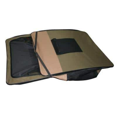 42 in. Portable Pet Kennel for Large Pets