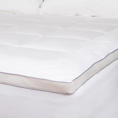 Powernap Down Alternative 100% Cotton Queen Mattress Pad