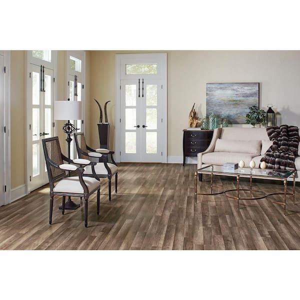 Laminate Flooring 23 91 Sq Ft Case, Trafficmaster 7mm Laminate Plank Flooring