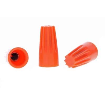 73B Orange WIRE-NUT Wire Connectors (100 per Bag, Standard Package is 3 Bags)