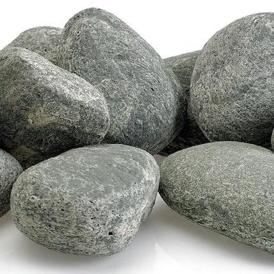 Cape Gray Lite Stones - 15 Stone Set Includes 2 lbs. Small Lava Rock