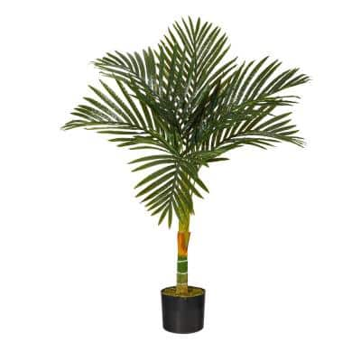 3ft. Single Stalk Golden Cane Artificial Palm Tree