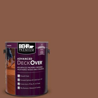 1 gal. #SC-142 Cappuccino Smooth Solid Color Exterior Wood and Concrete Coating
