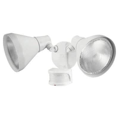 110-Degree White Motion Sensing Outdoor Security Light