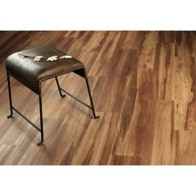 Performa Russet 7 in. W x 48 in. Glue Down Luxury Vinyl Plank Flooring (41.99 sq. ft./case)