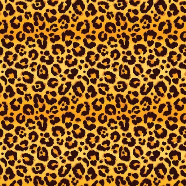 Leopard Print 6 Ft Printed 3 Panel Room Divider Can Leop The Home Depot