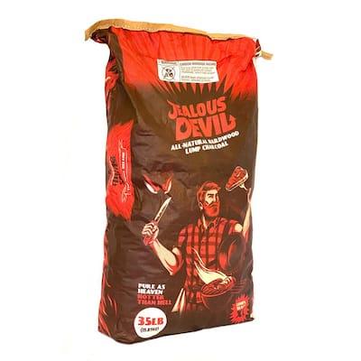 35 lbs. Bag XL Maxx 100% All Natural Hardwood Lump Grill Charcoal Wood Chunks