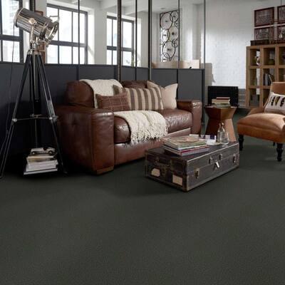 Soma Lake - Color Lichen Indoor/Outdoor Berber Green Carpet