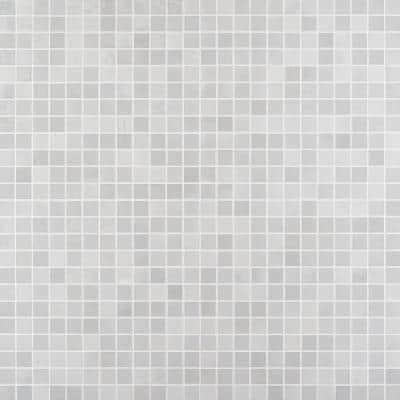 Hempstead Pearl 11.81 in. x 11.81 in. Square Matte Porcelain Mosaic Tile (0.97 sq. ft. / Sheet)