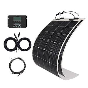 350-Watt Flexible Monocrystalline Solar Panel Kit with 40 Amp Rover Elite MPPT Charge Controller