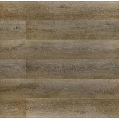 Trinity Mocha 0.71 in. T x 2.17 in. W x 94.49 in. L Luxury Laminate Overlapping Stair Nose Molding