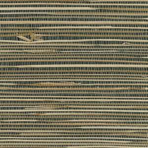 Anhui Black Grasscloth Black Wallpaper Sample