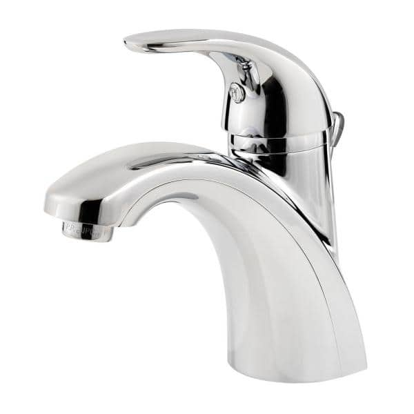 Pfister Parisa 4 In Centerset Single Handle Bathroom Faucet In Polished Chrome 6 Pack Lf042prcc6pk The Home Depot