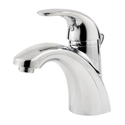 Parisa 4 in. Centerset Single-Handle Bathroom Faucet in Polished Chrome (6-Pack)