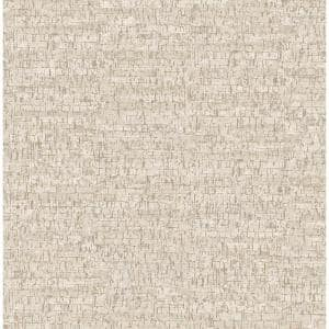 Burl White Small Faux Cork Strippable Roll (Covers 56.4 sq. ft.)