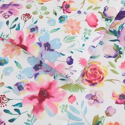 Emme 3-Piece Bright Floral Comforter Set
