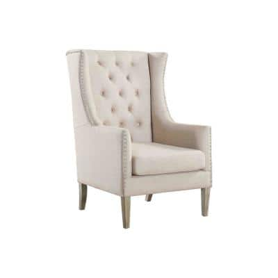 Lincoln Natural Traditional Accent Arm Chair