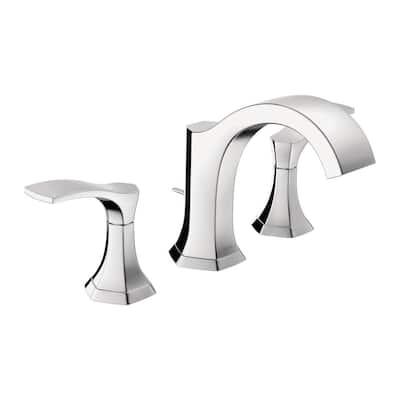 Locarno 8 in. Widespread 2-Handle Bathroom Faucet in Chrome