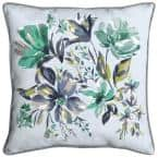Amara Floral Square Outdoor Throw Pillow (2-Pack)
