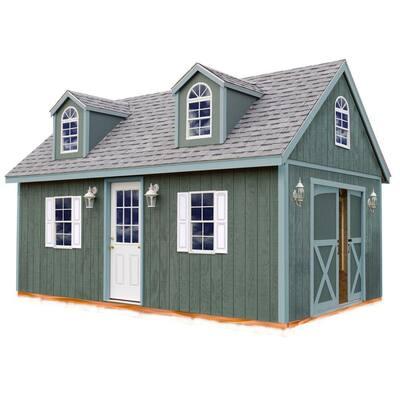 Arlington 12 ft. x 20 ft. Wood Storage Shed Kit