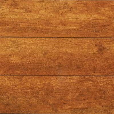 High Gloss Hills Cherry 12 mm Thick x 4.76 in. W x 47.72 in. L Water Resistant Laminate Flooring (15.79 sq. ft./case)