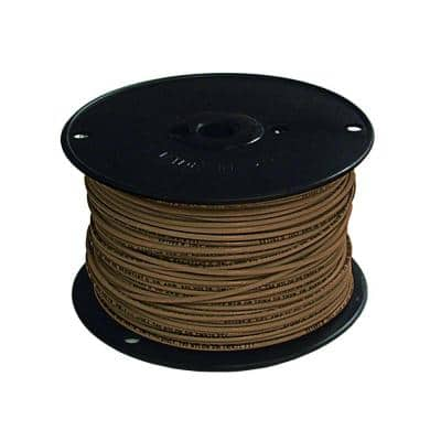 500 ft. 16 Brown Stranded CU TFFN Fixture Wire