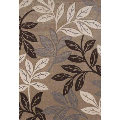 Freestyle Beige 8 ft. x 11 ft. Area Rug