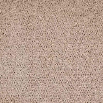 Game Face- Color Natural Texture Beige Carpet
