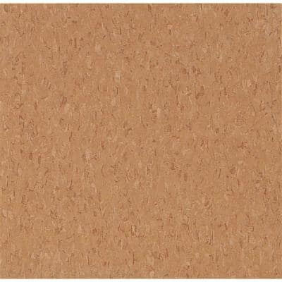 Imperial Texture VCT 12 in. x 12 in. Curried Caramel Standard Excelon Commercial Vinyl Tile (45 sq. ft. / case)