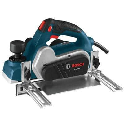 6.5 Amp 3-1/4 in. Corded Planer Kit with Reversible Woodrazor Micrograin Carbide Blade
