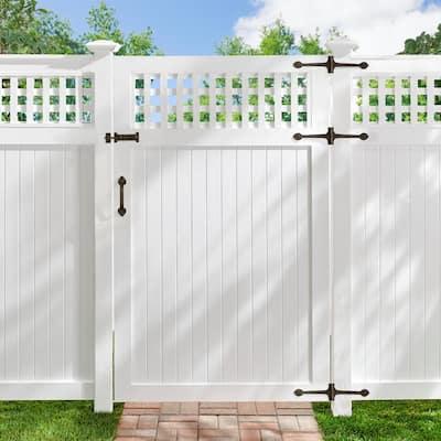 8 in. Natural Bronze Cast Bronze Door Pull Handle