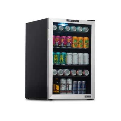 21 in. 160 Can Cooler Beverage Freestanding with SplitShelf and Precision Digital Thermostat