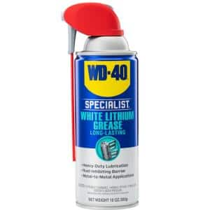 10 oz. White Lithium Grease, Long-Lasting Grease Spray