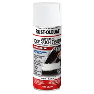 12 oz. White Roof Patch Sealer Spray (6-Pack)
