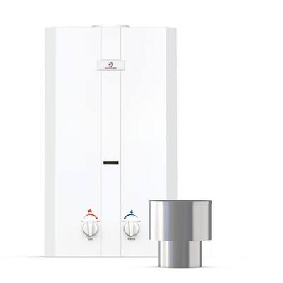 L10 3.0 GPM Portable 75,000 BTU Liquid Propane Outdoor Tankless Water Heater
